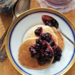 5:2 Diet Fast Day: Pancakes for Breakfast – Blueberry & Oat Pancakes with Cinnamon Recipe
