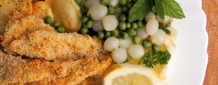 5:2 Diet Meal Plan for Fast Days: Low-Calorie Haddock Goujons with Garlic Panko Crumb (Recipe)