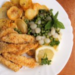 5:2 Diet Plan for Weekly Fast Days: Low-Calorie Haddock Goujons with Garlic Panko Crumb (Recipe)