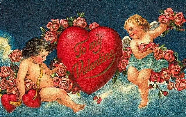 victorian-valentines-two-cherubs-roses-and-heart