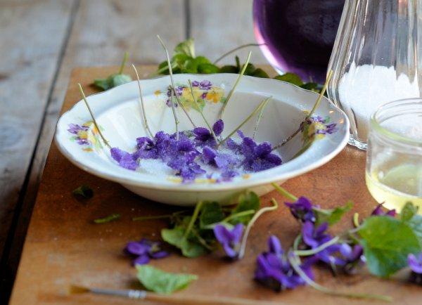 Crystallised Violets