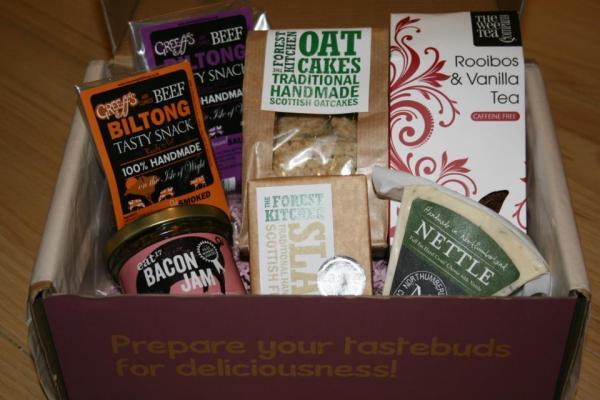 "Flavourly Artisan ""Tasting"" Box"
