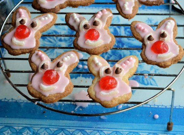 Red Nose Bunny Biscuits