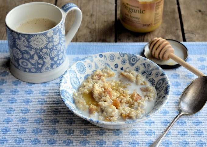 Teacup Apricot and Honey Porridge
