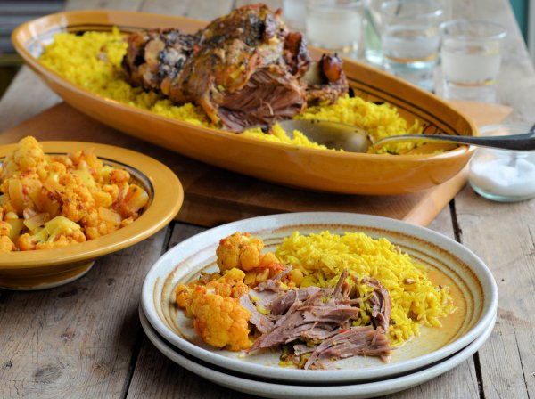 Persian Lamb & Aromatic Rice