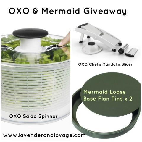 Lavender and Lovage OXO and Mermaid Giveaway