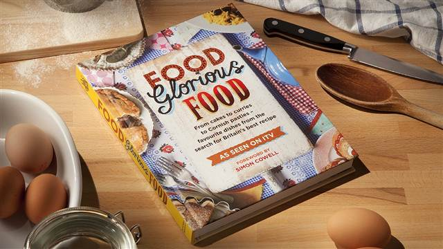 """Review: """"Food Glorious Food Book"""".....From Cakes to Curries to Cornish Pasties"""
