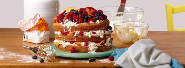 World Baking Day......Cakes Galore and my Vanilla, Strawberry & Rose Victoria Sandwich Cake