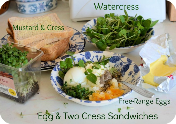 Egg and Two Cress Sandwiches