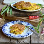 5:2 Diet Fast Day Recipe: Wild Garlic and Chilli Sweetcorn Fritters (185 Calories)