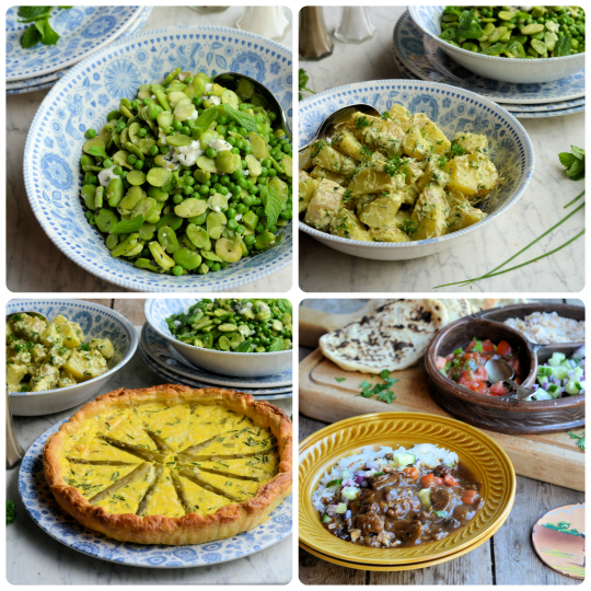 Thrifty & Organic Meal Planner: Asparagus,Spring Vegetables,Gooseberries & Cape Malay Beef Curry Recipes