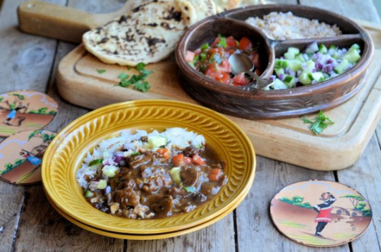 Cape Malay Beef & Fruit Curry