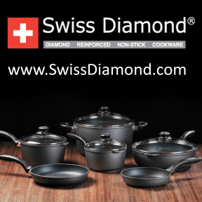 Giveaway: Win a Swiss Diamond Non-Stick Sauté Pan (RRP: £109) Favourite of Top Chefs!
