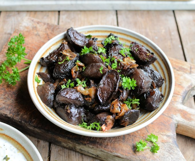 Roasted Beetroot with Shallots