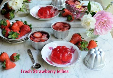 Fresh Strawberry Jellies recipe