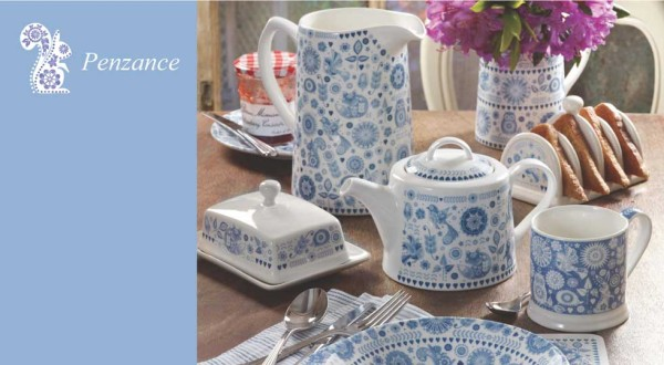 Win 12 pieces of Penzance Dinnerware
