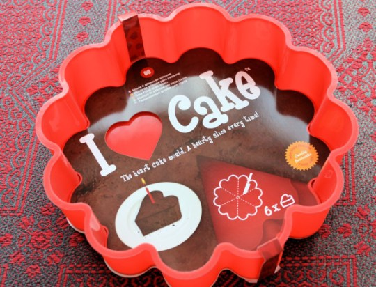 Heart Cake Mould