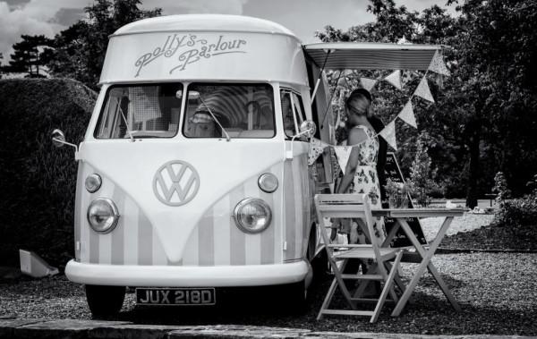 Vintage Ice Cream Van: Image: Polly's Parlour