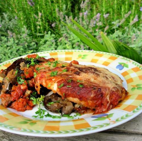 The Secret Recipe Club: Chicken Parmesan (Chicken Parmigiana)