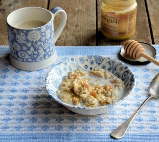 "My Mum's ""Teacup Apricot and Honey Porridge"""