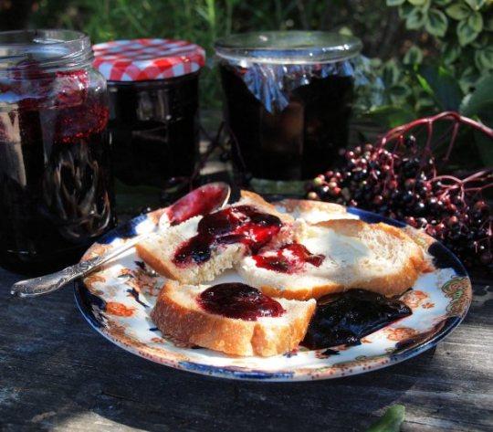 Elderberry and Apple Jelly