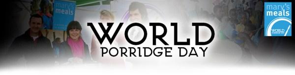 Warm Breakfast Duvet Day aka World Porridge Day!