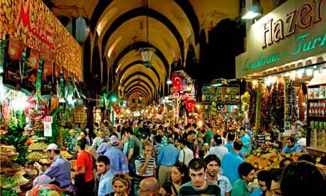 The Egyptian Spice Bazaar