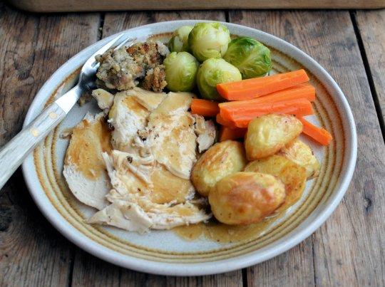 The Perfect Roast Chicken Recipe and The Secret Recipe Club