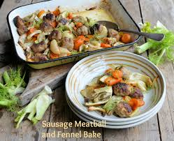 Sausage and Fennel Bake