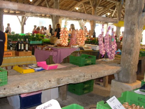 my local market in COZES, in the Charente Maritime, SW France.