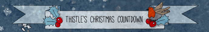 Thistle Christmas Countdown Banner