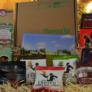 Giveaway: Win one of THREE Flavourly Christmas Boxes filled with Festive Goodies RRP:£17