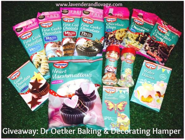 Giveaway: Win a FABULOUS Dr Oetker Baking Hamper