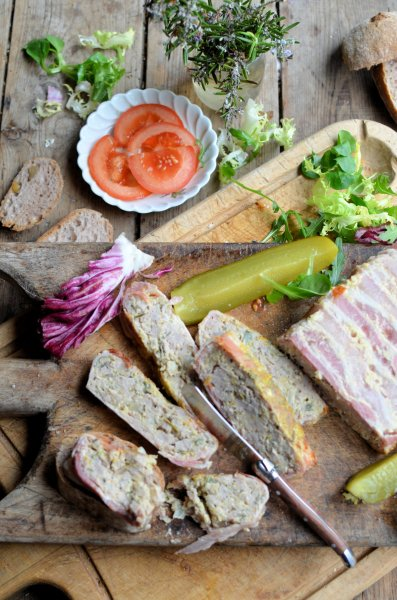 Meatloaf or Terrine? An Easy Recipe for Pork Sausage and Orange Terrine