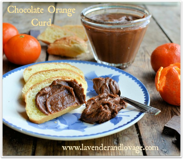 Chocolate Orange Curd with Godiva Chocolates and Clementines