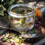 Culinary Flower and Herb Salt