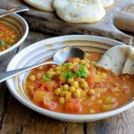 Moroccan 5:2 diet Soup