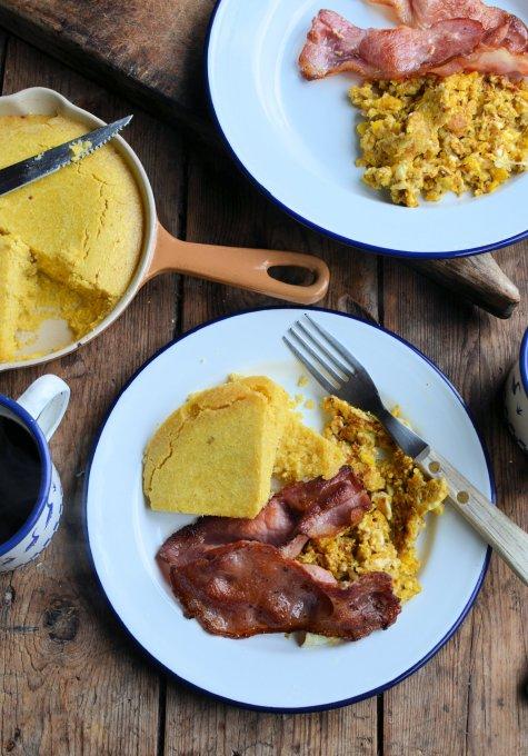 "A Cowboy's Breakfast! ""Hillybilly County Fair"" Cornbread Recipe"