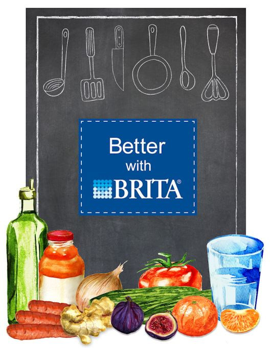 Better with Brita - Showcase your Food at The Big Feastival & Win a Brita Hamper of Goodies!