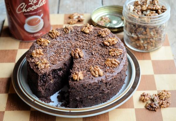 Drinking Chocolate Cake
