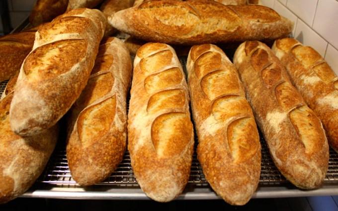 Freshly baked baked bread at Raymonds St John's NL