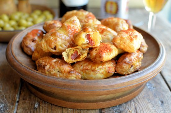 Spanish Tapas Memories: Chorizo Empanadillas