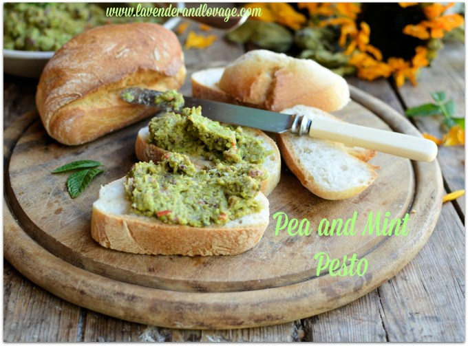 Pea and Mint Pesto