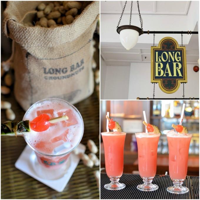 Singapore Sling at The Long Bar, Raffles Hotel
