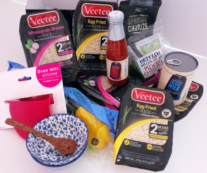Giveaway: Win a FABULOUS Family Size Veetee Egg Fried Rice Hamper!