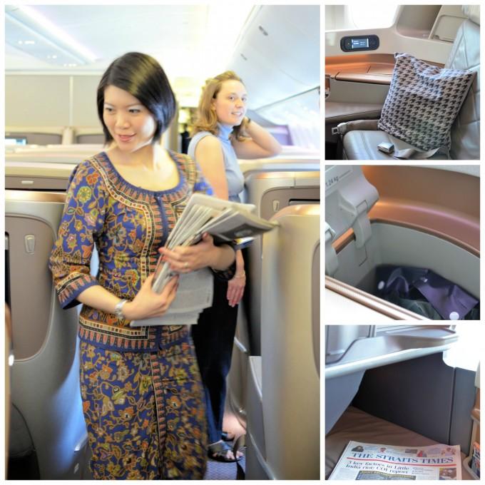 Singapore to London Boeing 777