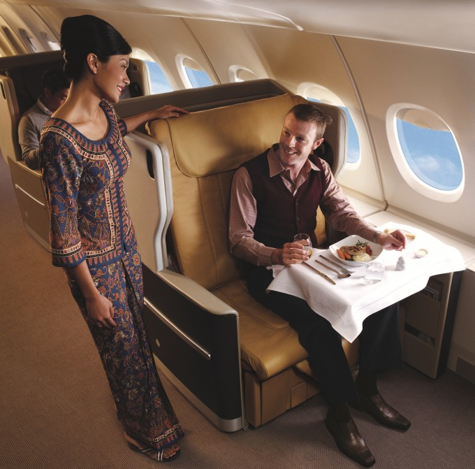 Business Class Airbus A380
