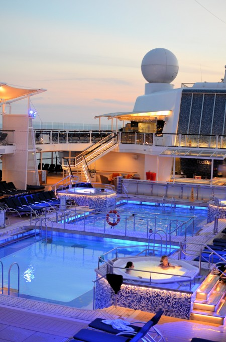 Celebrity Equinox Pool Area