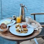 Breakfast on the Balcony - Celebrity Cruises Equinox