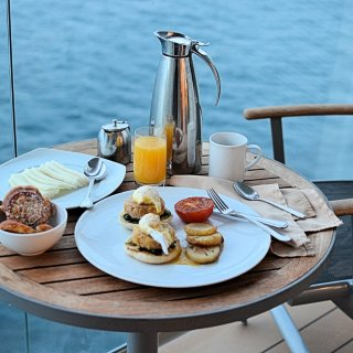 Breakfast on the Balcony - Celebrity Cruises Equinox